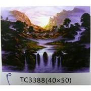 Алмазная мозаика (TC3388) Природа 40x50