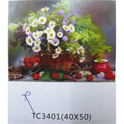 Алмазная мозаика (TC3401) Букет роз 40x50