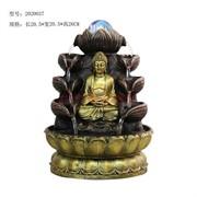 Фонтан 26 см (2020037) Будда из полистоуна