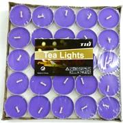 Чайные свечи 100 шт/уп цвета в ассортименте