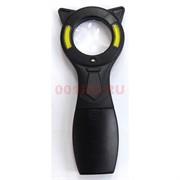 Лупа с LED подсветкой с галстуком и ушками 24 шт/уп