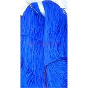 Нитка из греческого шелка 800 м синяя