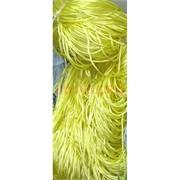 Нитка из греческого шелка 800 м лимонного цвета