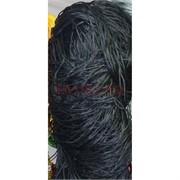 Нитка из греческого шелка 800 м черная