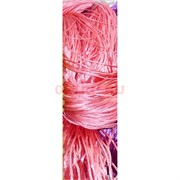 Нитка из греческого шелка 800 м розовая