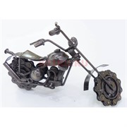 Фигурка металлическая (M-24450) велосипед цвет металл