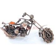 Фигурка металлическая (M-24450) велосипед цвет медный