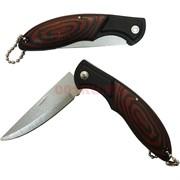 Перочинный нож с рукоятью под дерево 12 шт/уп