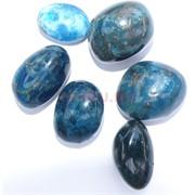 Натуральный минерал голубой апатит цена за 1 шт