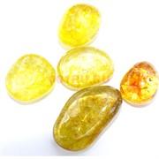 Натуральный минерал гретый цитрин цена за 1 шт