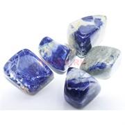 Натуральный минерал содалит цена за 1 шт (разные формы)
