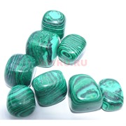 Натуральный минерал малахит прессовка цена за 1 шт
