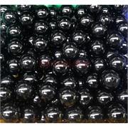 Бусины 8 мм из черного агата цена за 1 шт