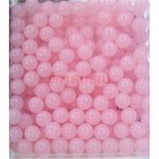 Бусины 8 мм из розового кварца прессовка цена за 1 шт