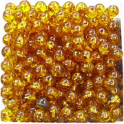 Бусины 8 мм из медового янтаря цена за 1 шт