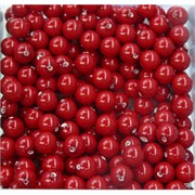 Бусины 8 мм из красного коралла цена за 1 шт