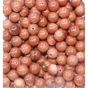 Бусины 10 мм из коричневого авантюрина цена за 1 шт
