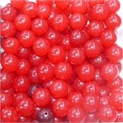 Бусины 10 мм из красного халцедона цена за 1 шт