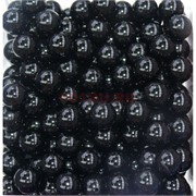 Бусины 10 мм из черного агата цена за 1 шт