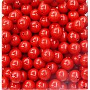 Бусины 10 мм из красного коралла прессовка цена за 1 шт