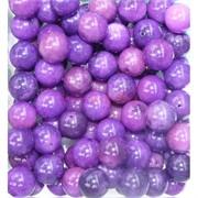Бусины 12 мм из фиолетового чароита (халцедона) имитация цена за 1 шт