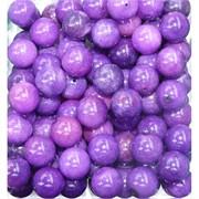 Бусины 12 мм из фиолетового чароита (имитация) за 1 шт