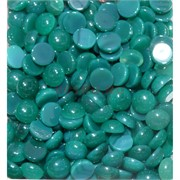 Кабошоны 10 мм круглые из хризопраза натурального