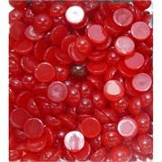 Кабошоны 12 мм круглые из красного турмалина