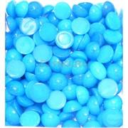 Кабошоны 12 мм круглые из голубого халцедона