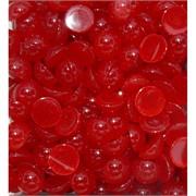 Кабошоны 12 мм круглые из красного халцедона
