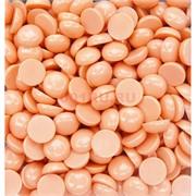 Кабошоны 15 мм круглые из оранжевого коралла