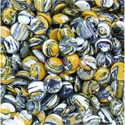 Кабошоны 15 мм круглые мозаика