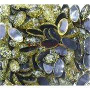 Кабошоны 9x16 овальные из желтого янтаря