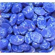 Кабошоны 13x18 овальные из синего сапфирина