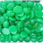 Кабошоны овальные 12x16 из зеленого хризопраза