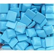 Кабошоны 14x14 квадратные из голубой бирюзы