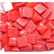 Кабошоны 14x14 квадратные из красного коралла
