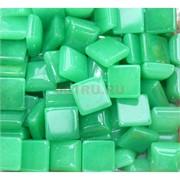 Кабошоны 14x14 квадратные из зеленого хризопраза