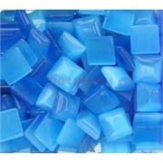 Кабошоны 14x14 квадратные из синего кошачьго глаза