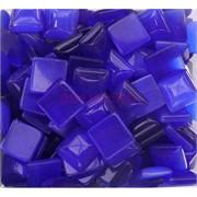 Кабошоны 14x14 квадратные из темно-синего кошачьго глаза