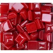 Кабошоны 14x14 квадратные из красного халцедона