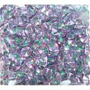 Кабошоны 8x10 «бриллиант» из фиолетового фианита