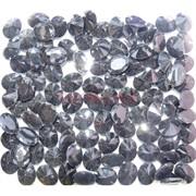 Кабошоны 8x10 «бриллиант» из красного стекла