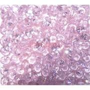 Кабошоны 8x10 «бриллиант» из розового стекла