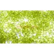 Кабошоны 2,5x5 рисинки из стекла оливкового цвета