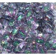 Кабошоны 10x13 капли из фиолетового фианита