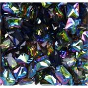 Кабошоны 10x14 прямоугольные из цветного стекла