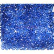 Кабошоны 4x6 зернышки из синего цвета