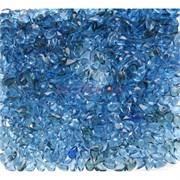 Кабошоны 4x6 зернышки из голубого цвета