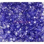 Кабошоны 5x7 зернышки из темно-синего стекла